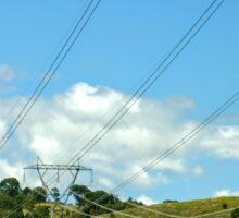 Canberra Powerlines Sticker