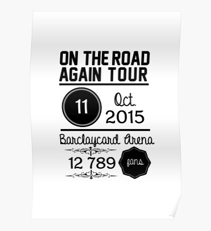 11th october - Barclaycard Arena OTRA Poster