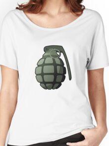 Cartoony He Grenade Women's Relaxed Fit T-Shirt
