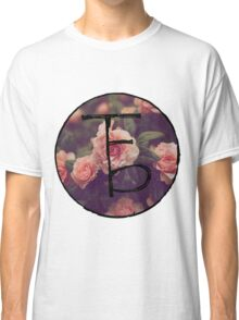 the front bottoms floral logo Classic T-Shirt