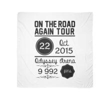 22nd october - Odyssey Arena OTRA Scarf
