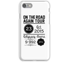 23rd october - Odyssey Arena OTRA iPhone Case/Skin
