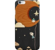 Escape to the Moon - Night iPhone Case/Skin