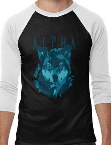 Alpha wolf Men's Baseball ¾ T-Shirt