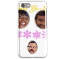 Treat Yo Self: Rare Ron Swanson Edition iPhone Case/Skin