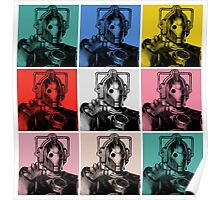 Cybermen Warhol Poster
