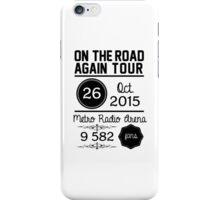 26th october - Metro Radio Arena OTRA iPhone Case/Skin