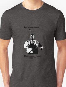 A stranger in the alps (dark) T-Shirt