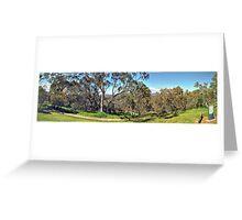 Padman Mates Park, Albury Greeting Card