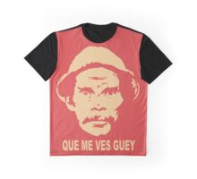 Que Me Ves Guey Black funny nerd geek geeky Graphic T-Shirt