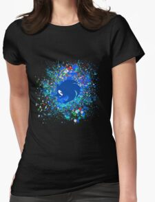 Sonic X Womens Fitted T-Shirt