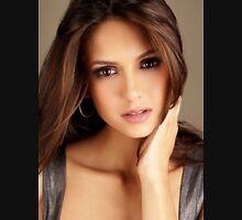 Beautiful Nina Dobrev 3 Unisex T-Shirt