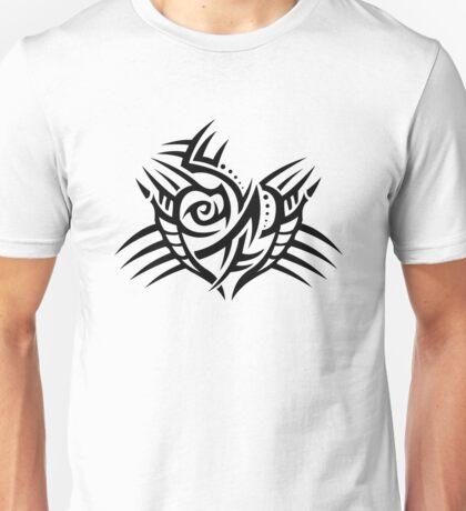 Tribal heart Unisex T-Shirt