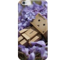 Danbo Lounging in the Jacarandas iPhone Case/Skin