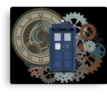 Traveling through the gears of Time  Canvas Print
