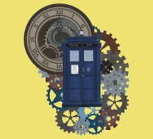 Traveling through the gears of Time  Baby Tee