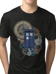 Traveling through the gears of Time  Tri-blend T-Shirt