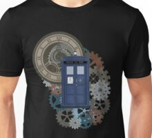 Traveling through the gears of Time  Unisex T-Shirt