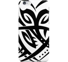 Tribal heart iPhone Case/Skin
