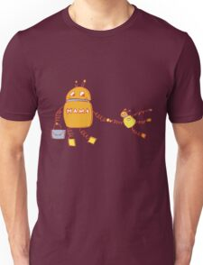 Robomama Robot Mother And Child Unisex T-Shirt