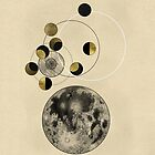 Phases of the Moon by Arell