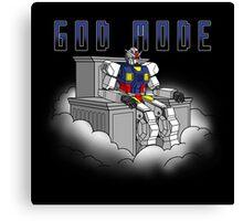 God Mode_Mecha Canvas Print