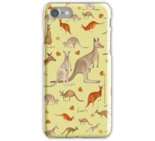 Kangaroo Heart iPhone Case/Skin
