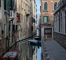 Venice Reflections by Ron Finkel