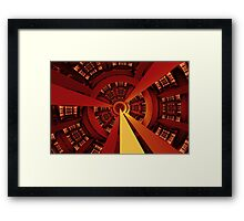 Central Vanishing Point No. 2 Framed Print