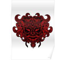 Asian Daemon - Case & Skin Print Poster
