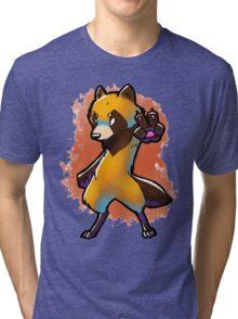 tanuki Tri-blend T-Shirt