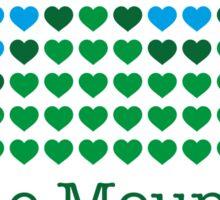 I love the mountains V.1.2 Sticker