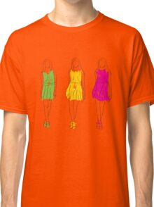 abstract fashion model Classic T-Shirt