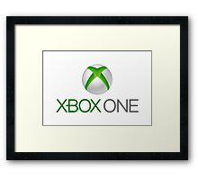 Xbox One Framed Print
