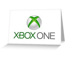 Xbox One Greeting Card