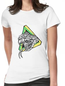 Infinity Snake Womens Fitted T-Shirt