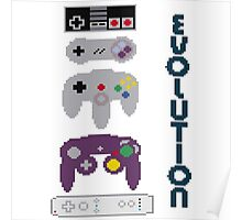 Nintendo Evolution Poster