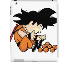 Son Goku x Schroeder (Peanuts) iPad Case/Skin