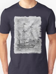 19th century Sailing Ship T-Shirt Unisex T-Shirt