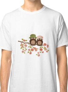 Cute owls (Spring)  Classic T-Shirt