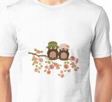 Cute owls (Spring)  Unisex T-Shirt
