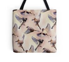 Sparrow Flight Tote Bag