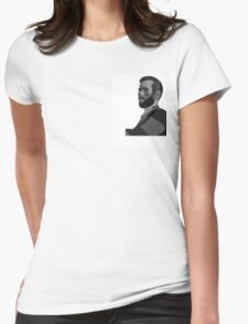 Woody Woodrow vector portrait Womens Fitted T-Shirt