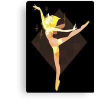 Yellow Pearl Canvas Print