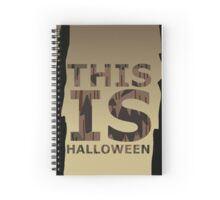 This is Halloween Spiral Notebook