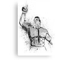 MMA FIGHTER Canvas Print