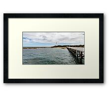 Point Lonsdale Panorama Framed Print