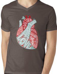 Letters of Love Mens V-Neck T-Shirt
