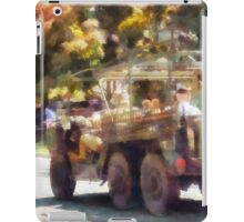 Army Truck in Parade iPad Case/Skin