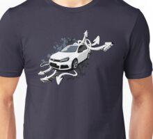 VW Golf R - Arrows paint splatter Unisex T-Shirt